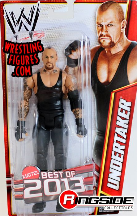Undertaker  WWE Series Best of 2013  Ringside Collectibles