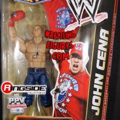 Folding Chairs Walmart Cocktail Tables And For Sale John Cena - Wrestlemania 27 Best Of Ppv Elite Exclusive | Ringside Collectibles