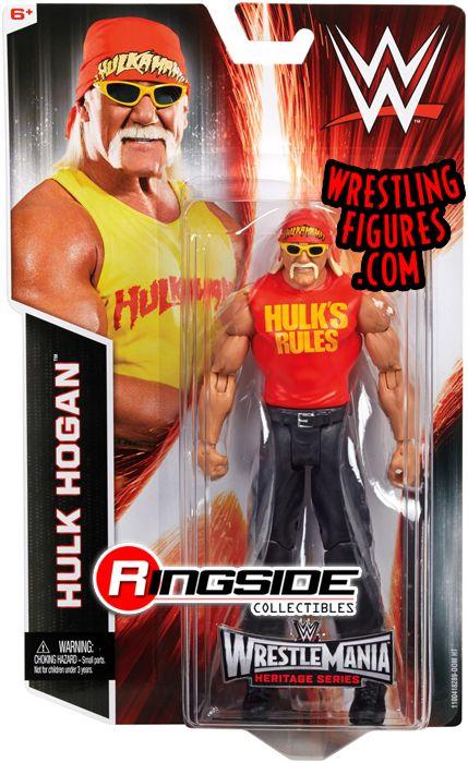 Hulk Hogan  WWE Series WrestleMania 31  Ringside