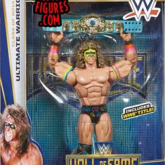 Chairs For Girls Swivel Chair John Cootes Ultimate Warrior - Wwe Hall Of Fame 2014 Toy Wrestling Action Figure By Mattel