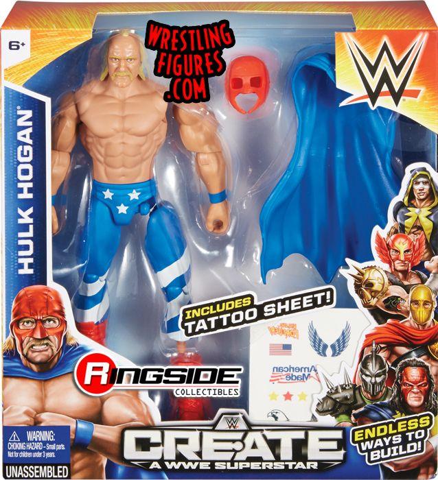 Hulk Hogan  WWE CreateaSuperstar Small Pack WWE Toy