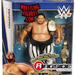 Retro Tables And Chairs Desk Chair Yokozuna - Wwe Hall Of Fame 2015 Toy Wrestling Action Figure By Mattel