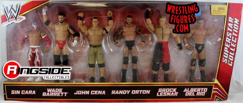 folding table and chairs small kitchen tables wwe superstar 6-pack exclusive (sin cara, bad news barrett ...