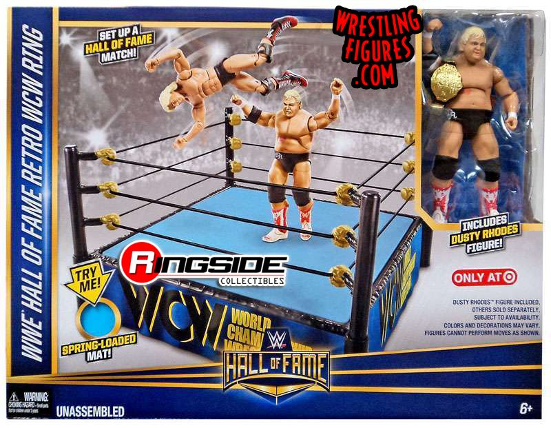 WWE WWE Hall of Fame Basic Ring w Dusty Rhodes Elite WWE