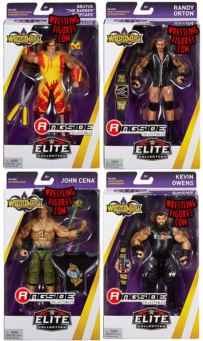 WWE Elite WrestleMania 34 WWE Toy Wrestling Action