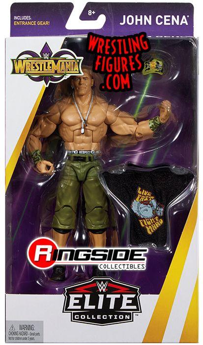 John Cena  WWE Elite WrestleMania 34 WWE Toy Wrestling