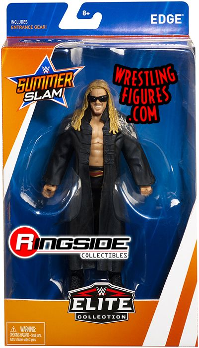 Edge  WWE Elite SummerSlam 2018 WWE Toy Wrestling