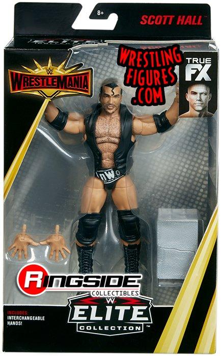 Scott Hall  WWE Elite WrestleMania 35 WWE Toy Wrestling