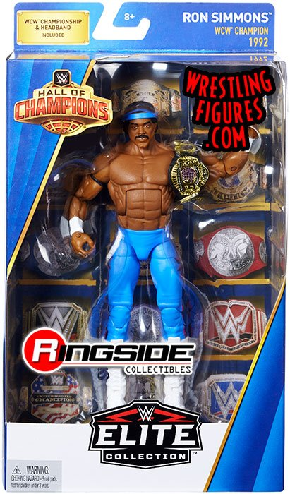 Ron Simmons  WWE Hall of Champions WWE Toy Wrestling
