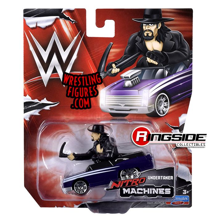 Undertaker  WWE Nitro Machines Toy Wrestling Car by