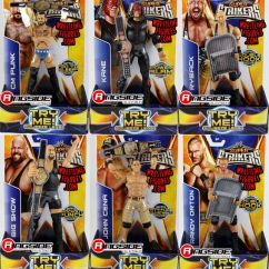 Big Folding Chairs Minnie Mouse Table And Chair Set 3 Pc Package Deal - Wwe Super Strikers (big Show, Ryback, Kane, Cm Punk, Randy Orton & John Cena ...