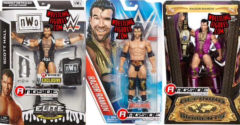 Package Deal Includes the following WWE Toy Wrestling