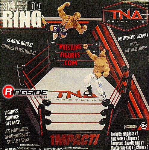 TNA 6 Sided Ring  Ringside Collectibles