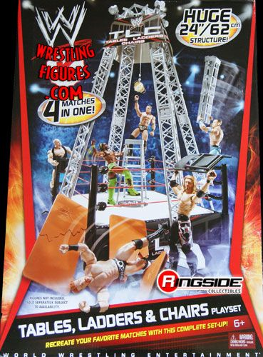WWE Tables Ladder  Chairs Playset  Ringside Collectibles