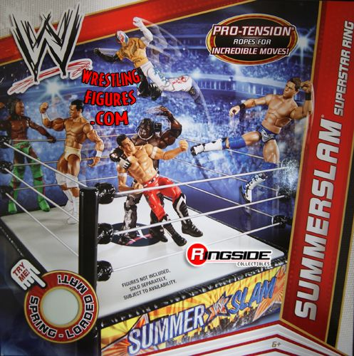 cool chairs for girls chair casters walmart summerslam wrestling ring | ringside collectibles
