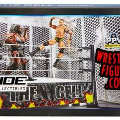 Pre Tables And Chairs Accent Club Wwe Hell In A Cell Ring Playset | Ringside Collectibles