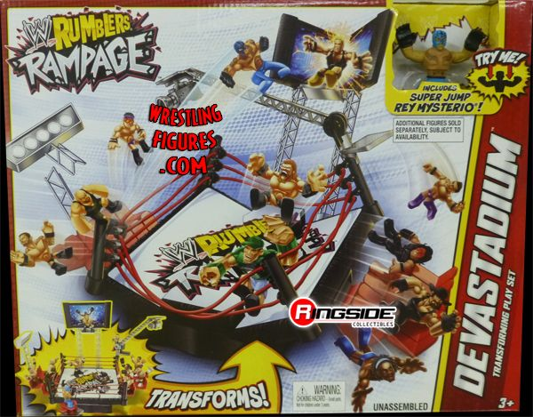 Devastadium Playset  WWE Rumblers Rampage  Ringside