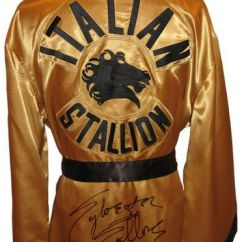 Cool Chairs For Girls High Back Executive Fabric Office Chair Sylvester Stallone (rocky Balboa) - Autographed Rocky Iii Boxing Robe | Ringside Collectibles