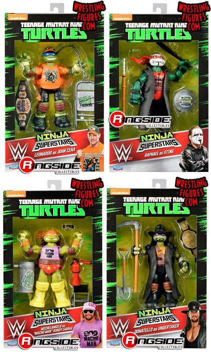 TMNT WWE Ninja Superstars  The Teenage Mutant Ninja