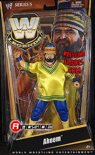 retro tables and chairs bar height dining chair covers akeem - wwe legends 5 | ringside collectibles