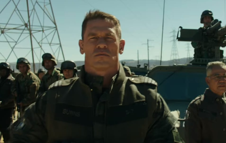 First Look At John Cena In New Bumblebee Movie