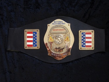 Hulk Hogans Heavyweight Championship Wrestling Belt