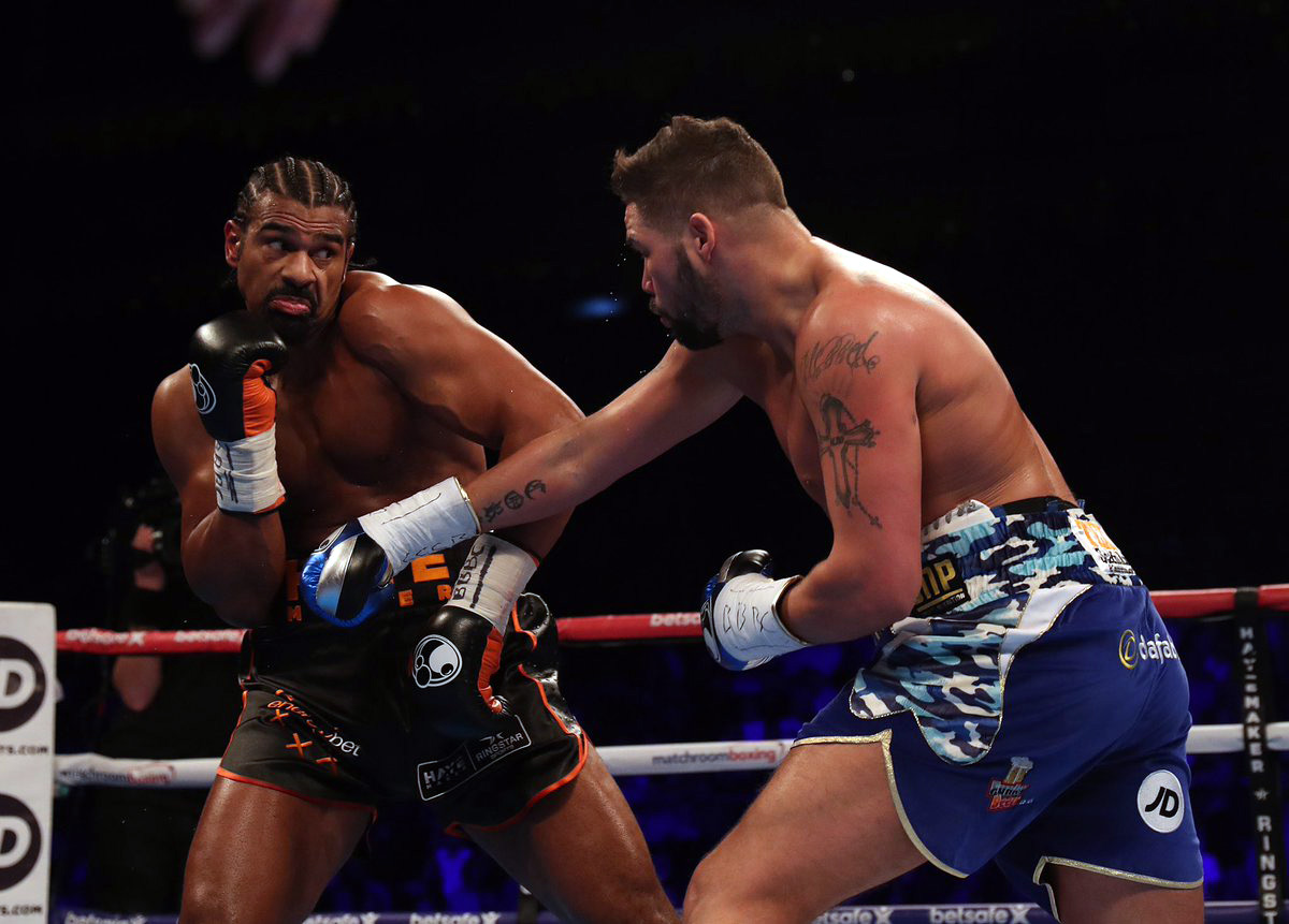 Tony Bellew Ponders Wilder And Parker Options The Ring