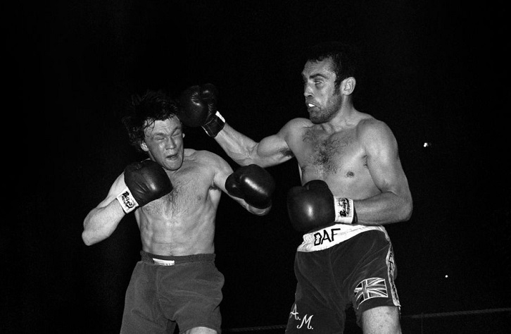 Then-European middleweight champion Tony Sibson (left) vs. Alan Minter. Photo credit: PA Images via Getty Images