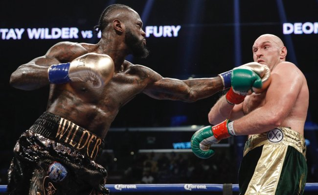 Deontay Wilder Tyson Fury Look Ahead To Immediate