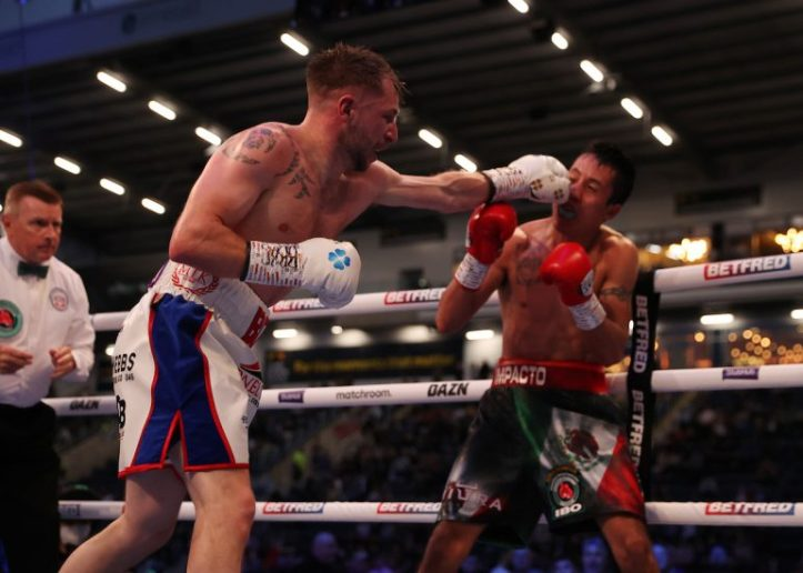 The IBO may be a paper belt, but no one can deny Maxi Hughes turned up on biggest night of his career   MAFB: Lara Warrington 2
