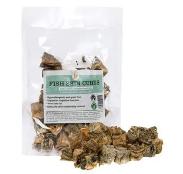 Ringwood Dogs Dog Treats & Chews: jr Fish Skin Cubes