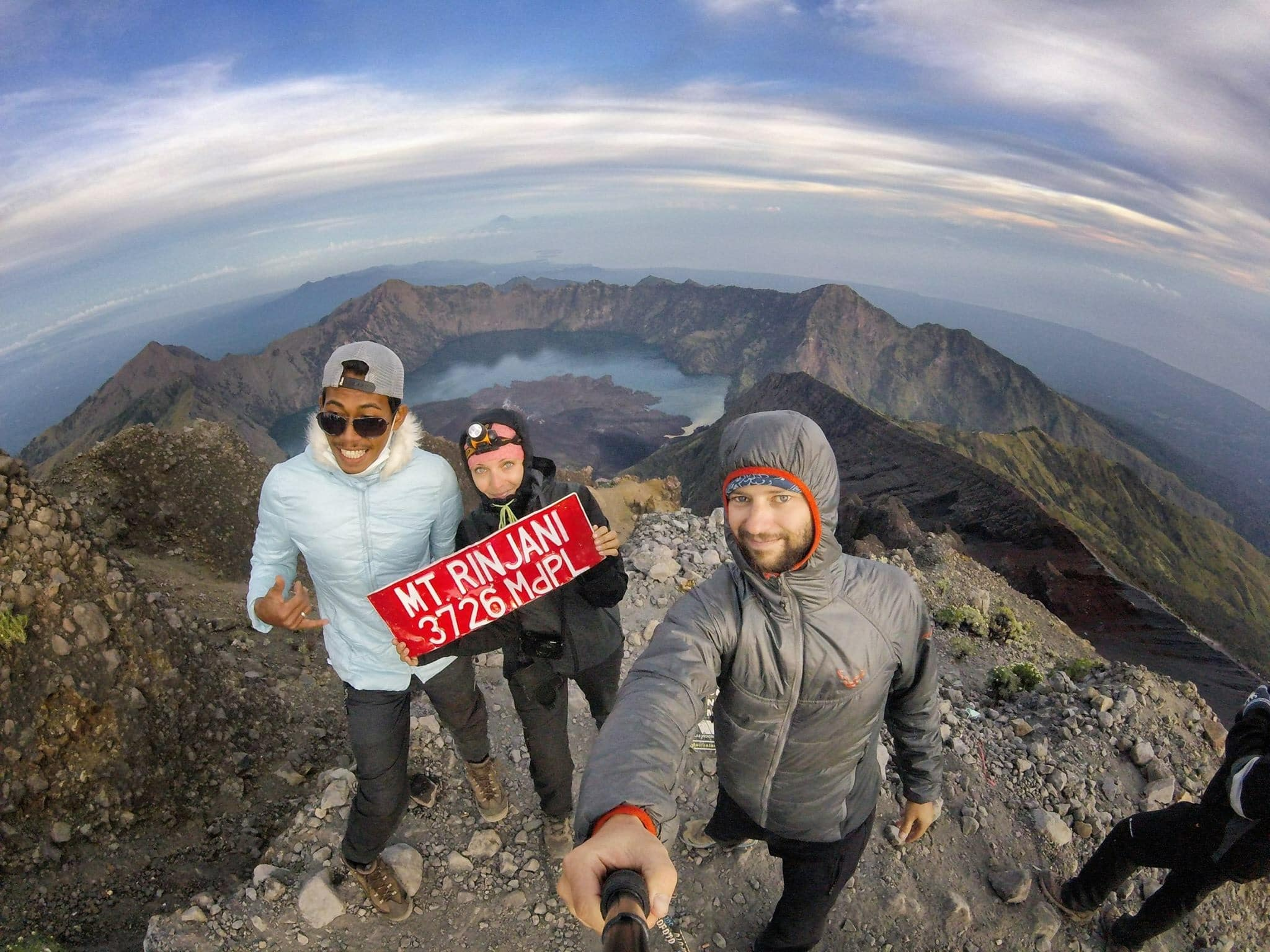 Rinjani Guide and our guest