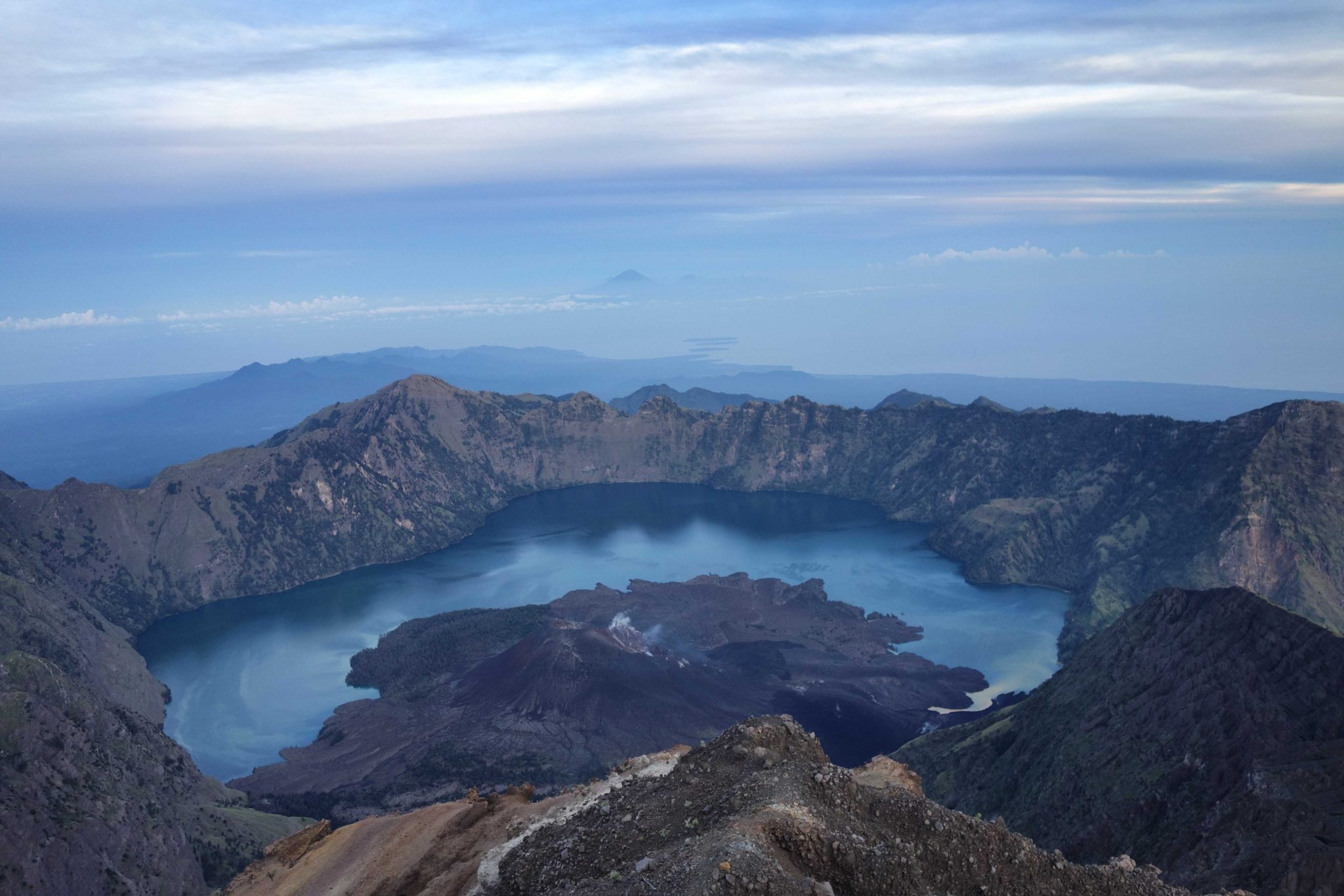 "Baby Volcano ""baru jar"" view from Summit"