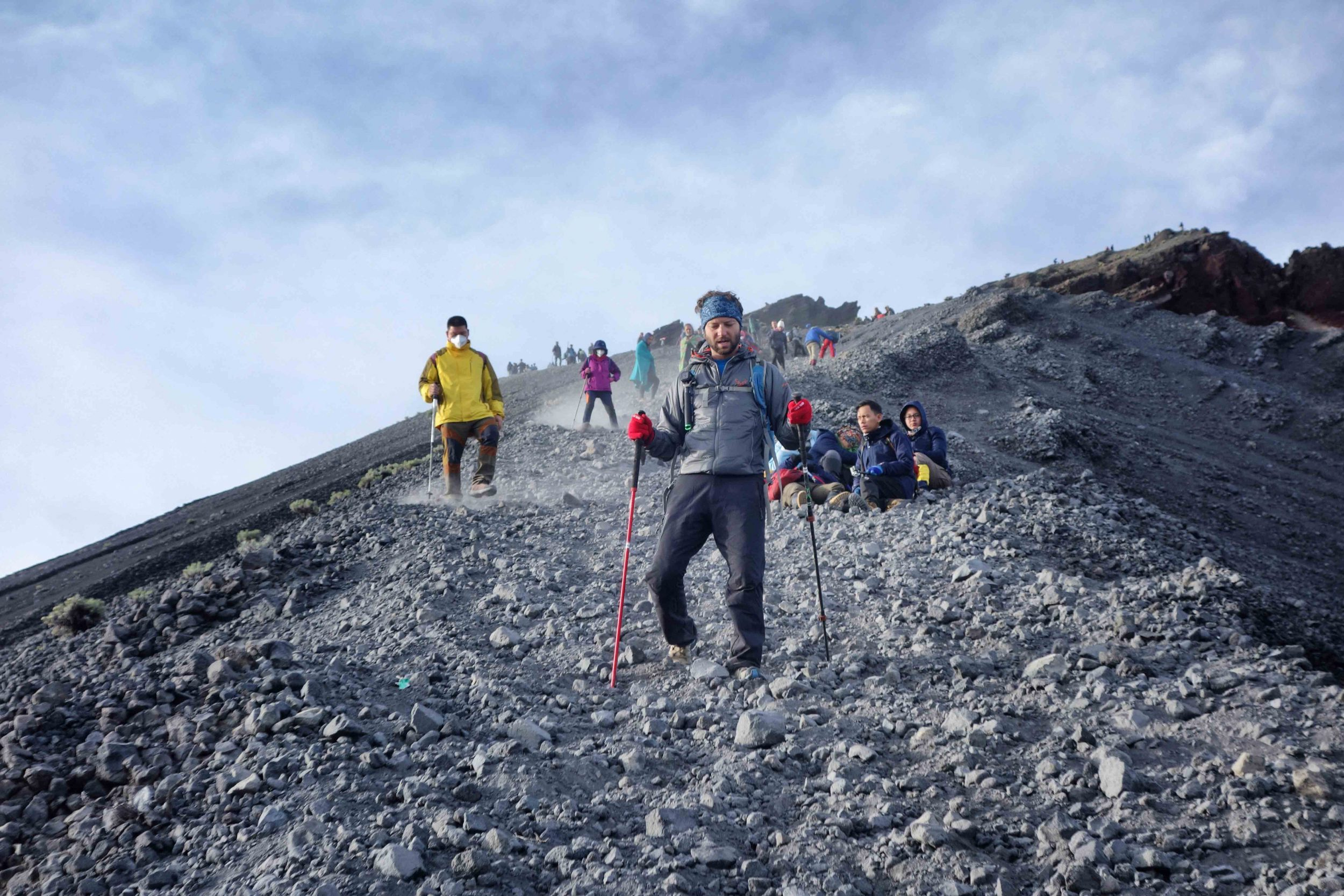 Back from rinjani summit