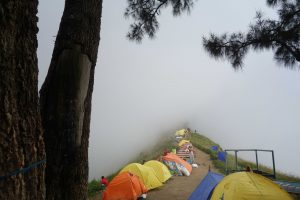 Sembalun crater rim camp area