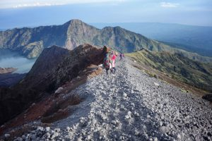 Punngungan before Rinjani Summit