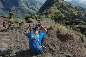 Come Back from Rinjani Summit