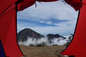 Senaru Rim View from tent