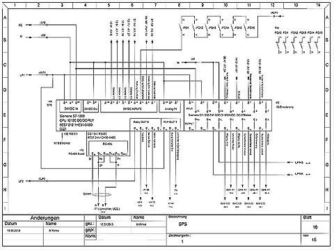 Schaltplan Der Siemens Plc