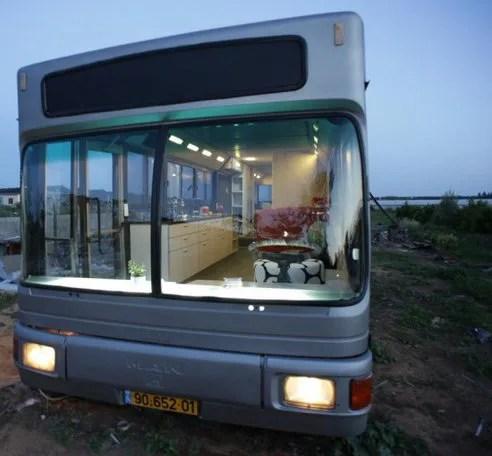 La casa sul vecchio autobus
