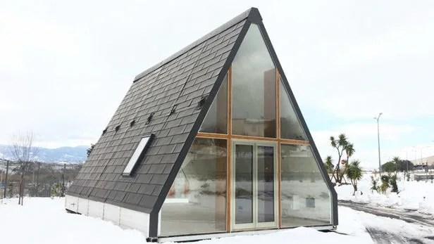 MADi la casa prefabbricata in legno pieghevole