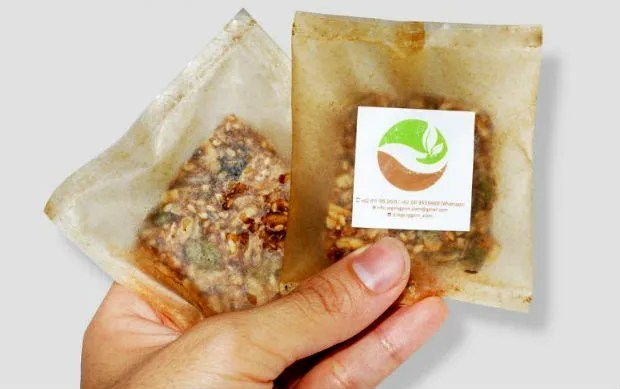 imballaggi biodegradabili