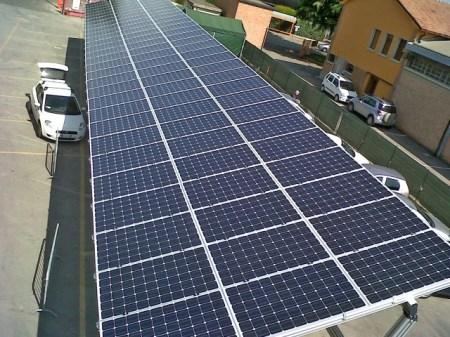 Punto Fotovoltaico e Giulio Barbieri, pensiline per la ricarica