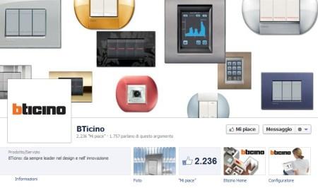 BTicino e i social network