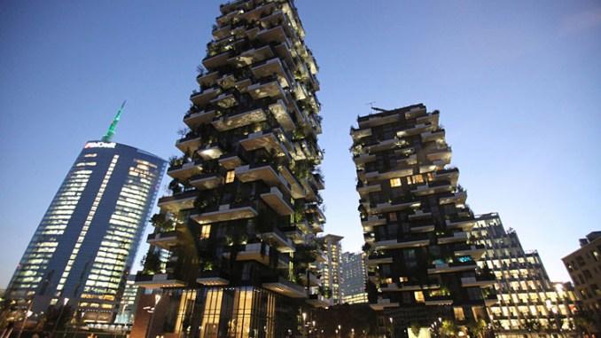 Il Bosco Verticale di Milano premiato come grattacielo più bello