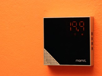 momit Home Thermostat, climatizzazione smart per edifici intelligenti