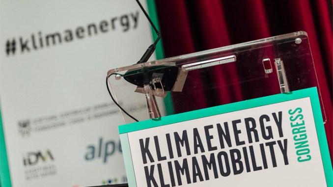 Klimaenergy Klimamobility Congress 2016, le rinnovabili e la mobilità