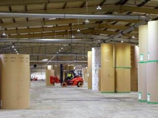 Cree illumina gli spazi industriali della Corrboard UK Limited