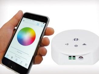 GBC, la Centralina Wi-Fi e il controllo della luce via smartphone