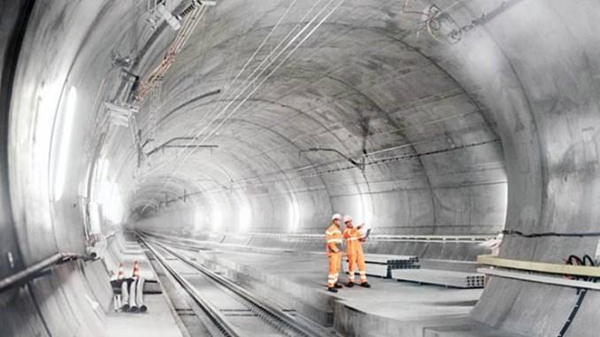 Le tecnologie a basso consumo di ABB per il tunnel del Gottardo
